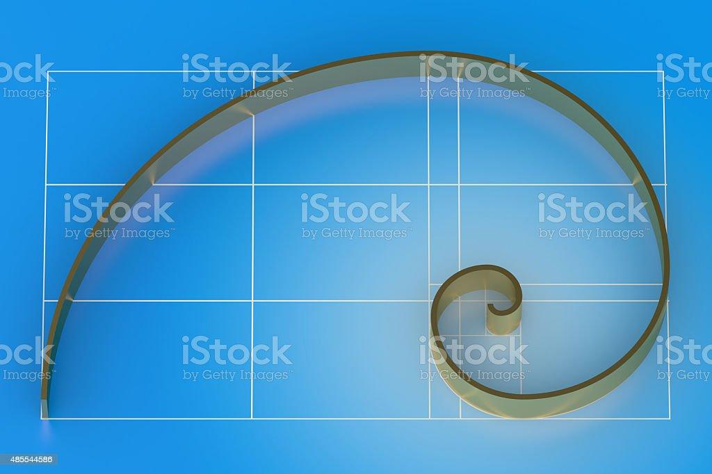 Golden ratio stock photo