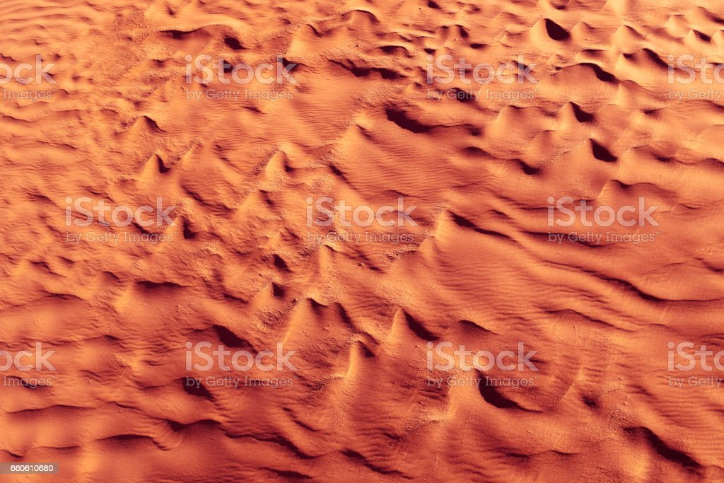 Golden red color. Desert. Modern and contemporary wallpaper for interior design. Background and Texture royalty-free stock photo