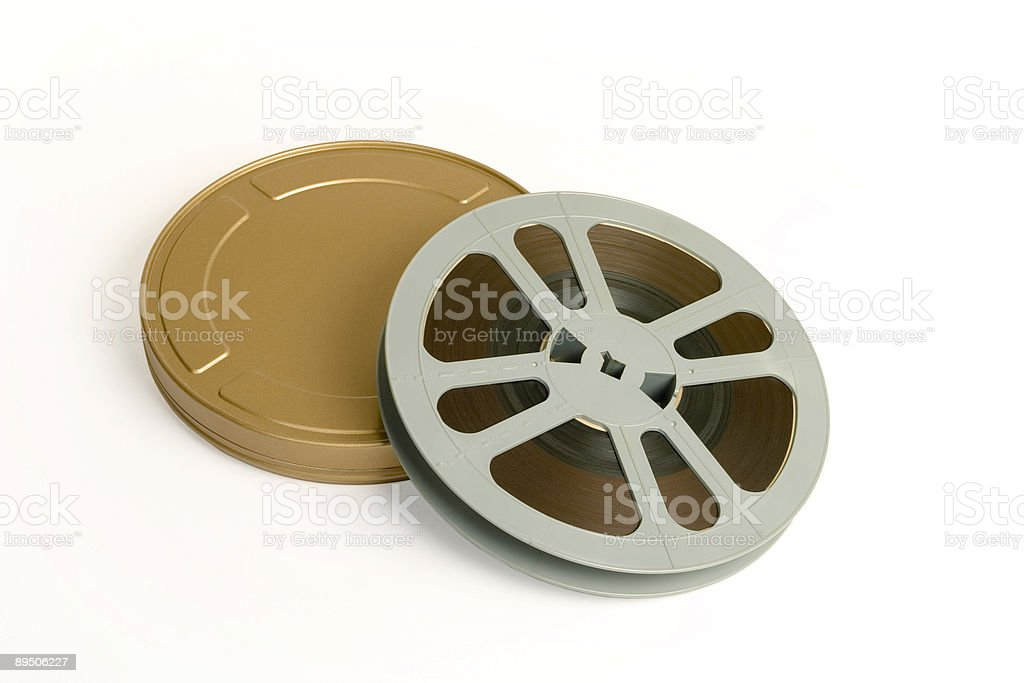 Golden Reel royalty-free stock photo