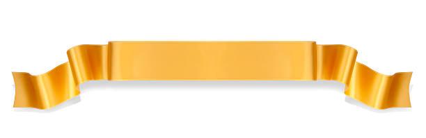Bannière de ruban Orange - Photo