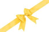 istock Golden ribbon gift card 937849606