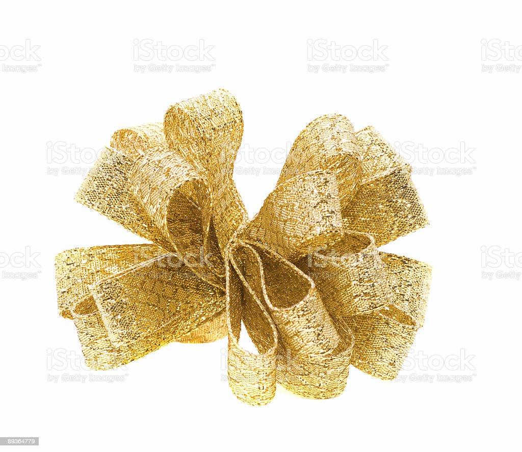 Nastro dorato foto stock royalty-free