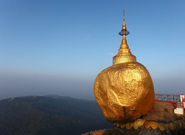 Golden Rock bei Sonnenaufgang – Foto