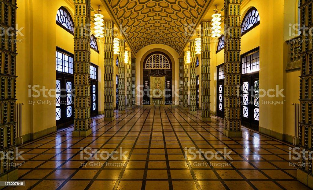 Golden Room royalty-free stock photo