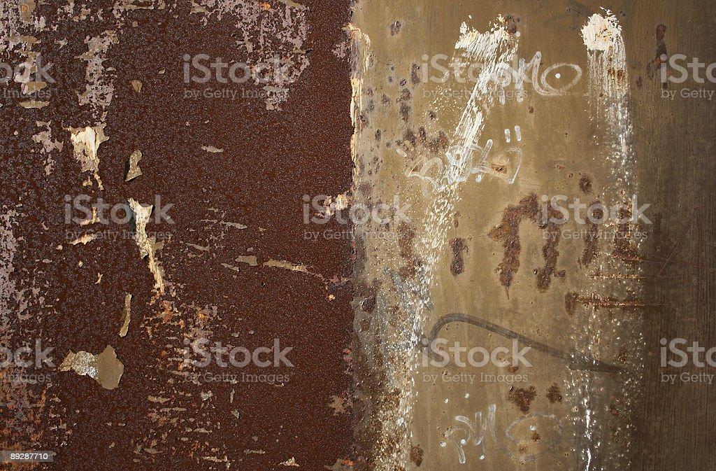 Golden Rust stock photo