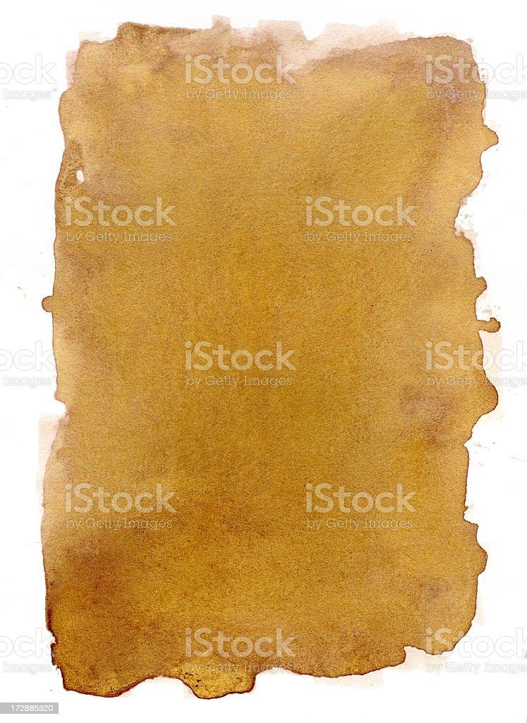 Golden Sand Frame Vol II stock photo