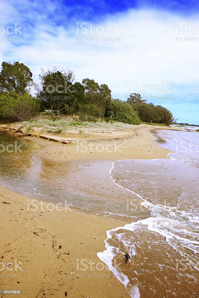 Golden Sands royalty-free stock photo