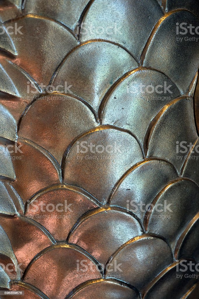Golden Scales royalty-free stock photo