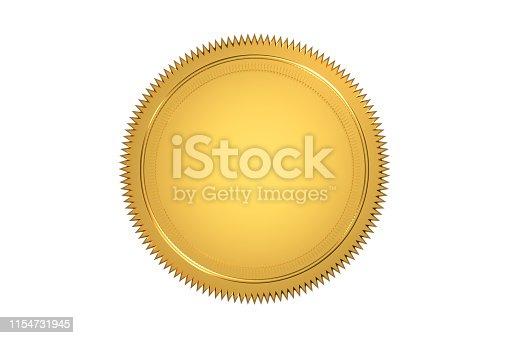 istock Golden Seal 1154731945