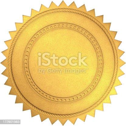 istock Golden Seal 172901563