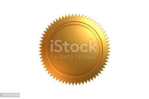 istock Golden Seal 623062390