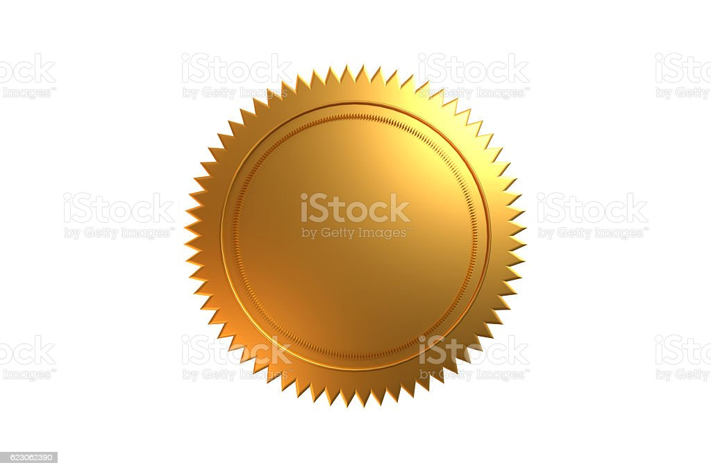 Golden Seal - foto stock