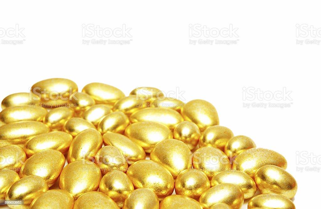 Golden formas organizar en el fondo foto de stock libre de derechos