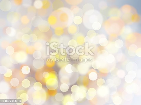 Golden shiny light bokeh background, luxury style