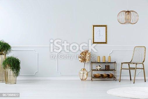 istock Golden sitting room 957368922