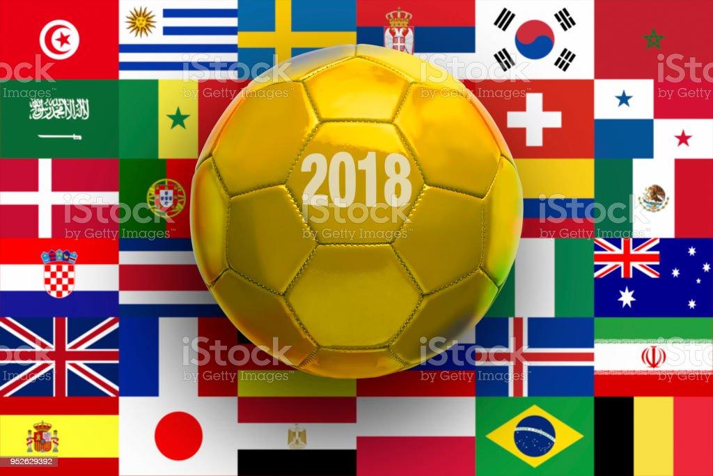 Golden Foot Ball - Photo