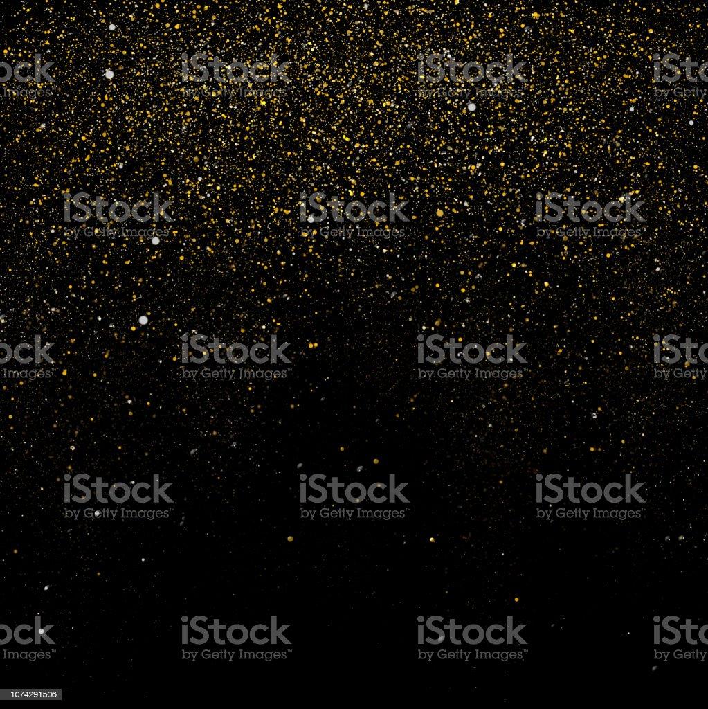 黄金の輝きの背景 ロイヤリティフリーストックフォト