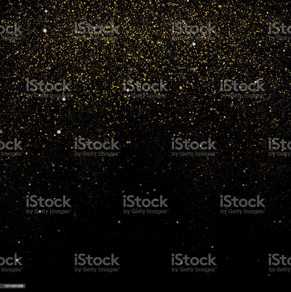 Golden sparkle background royalty-free stock photo
