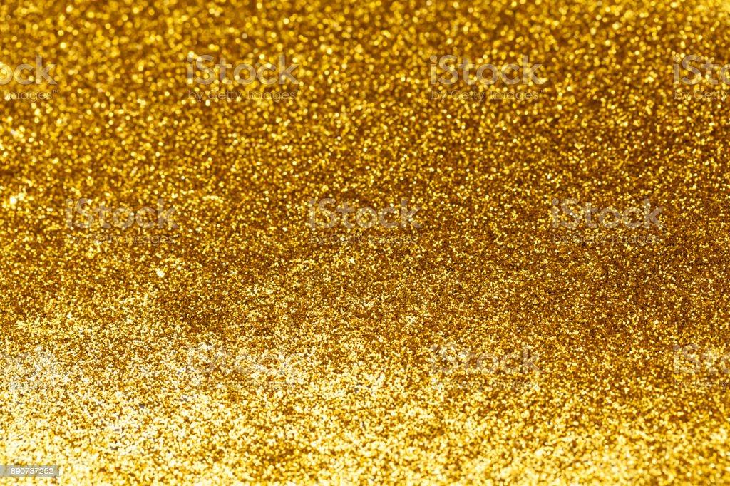 golden sparkles blur stock photo