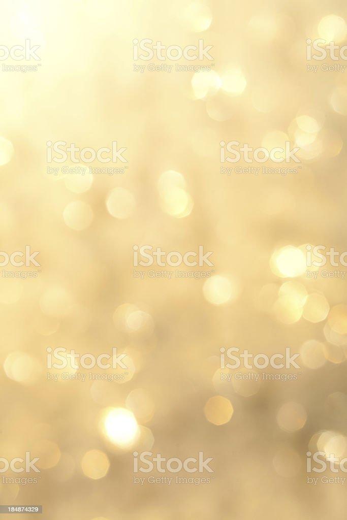 Golden sparkling background stock photo