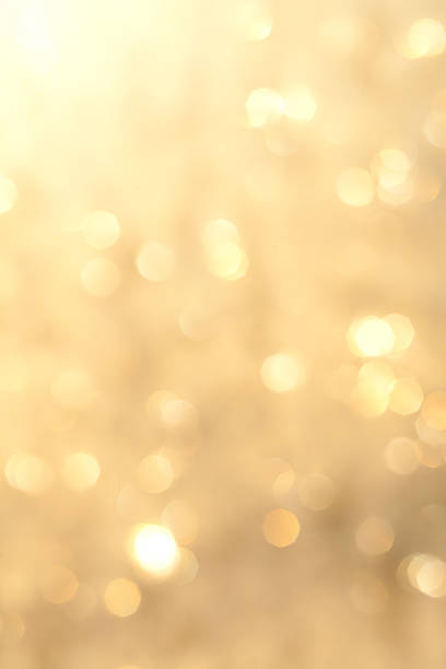 Golden sparkling background stock photo