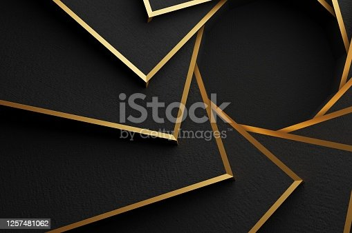 517581264 istock photo Golden Spiral Abstract 1257481062