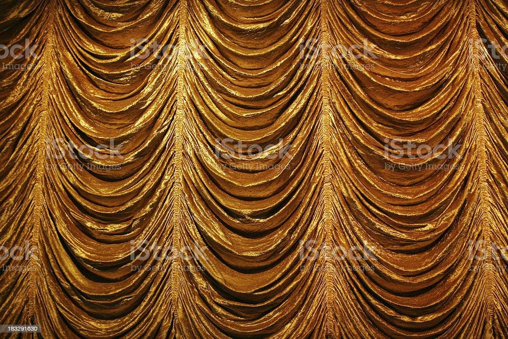 Golden Bühne Vorhang – Foto