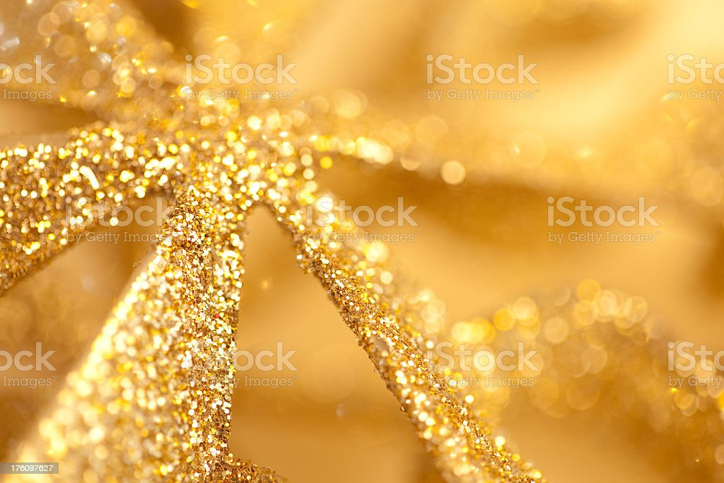 Golden Star background royalty-free stock photo