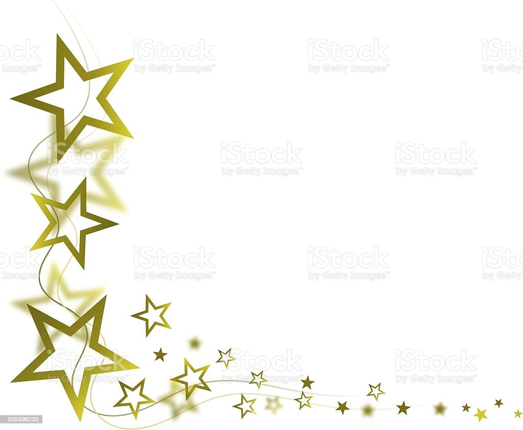 Golden Star Frame Stock Photo & More Pictures of Abstract | iStock