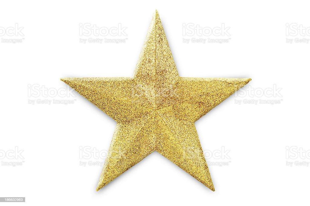 golden star stock photo
