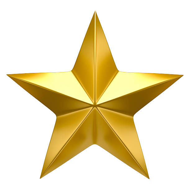 golden star - star shape stock photos and pictures