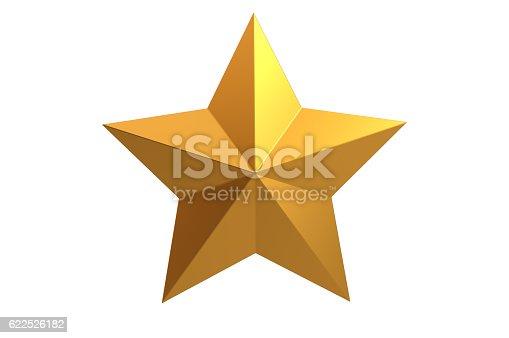 istock Golden Star 622526182