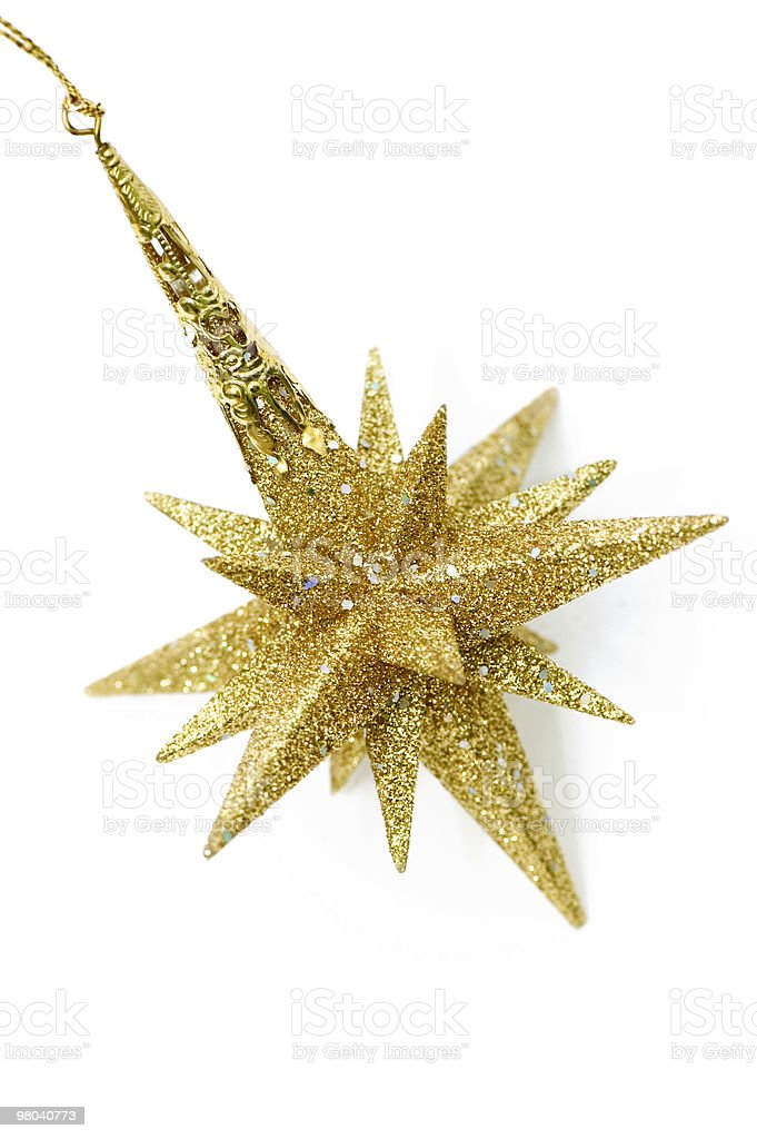 Golden Star royalty-free stock photo