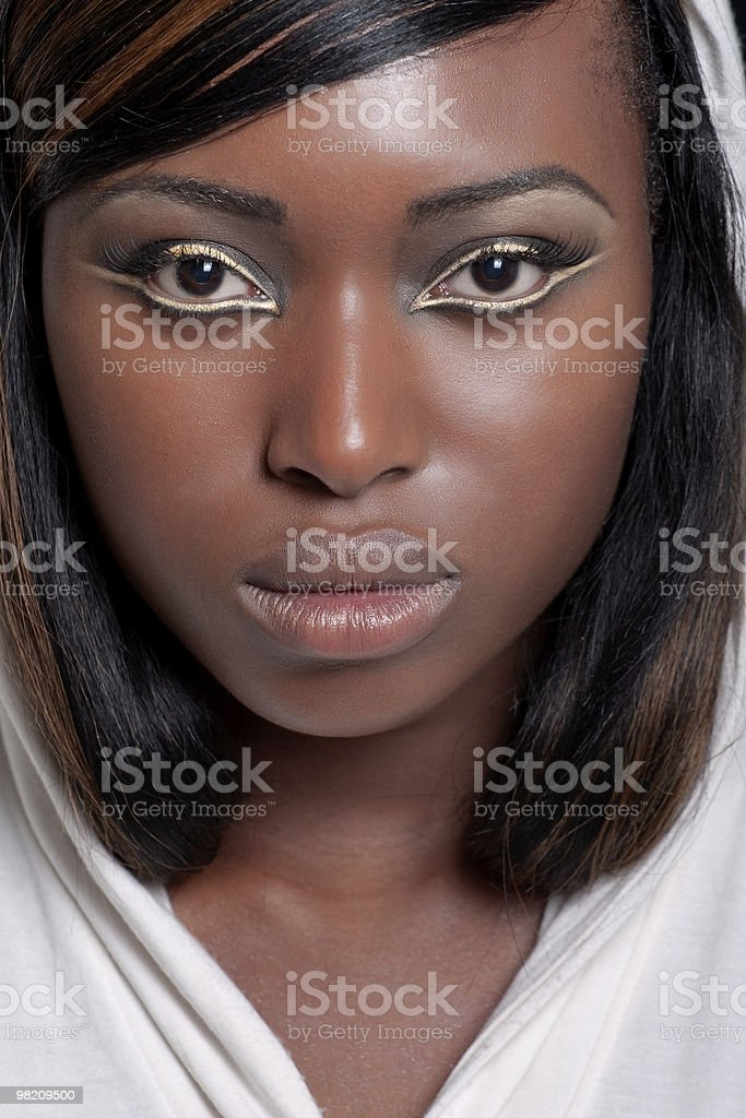 Golden stare royalty-free stock photo