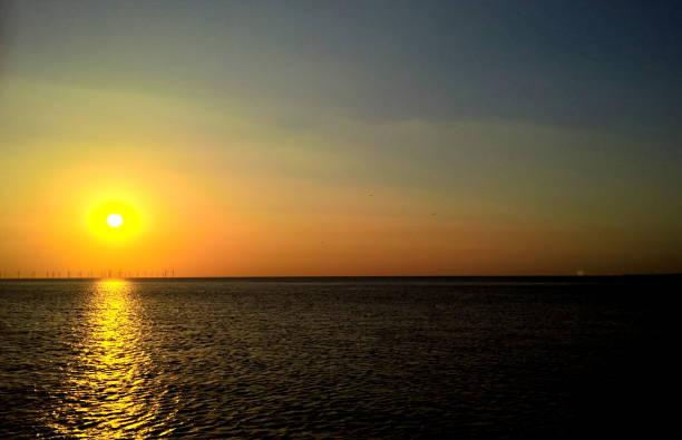 Golden Sonnenuntergang  – Foto