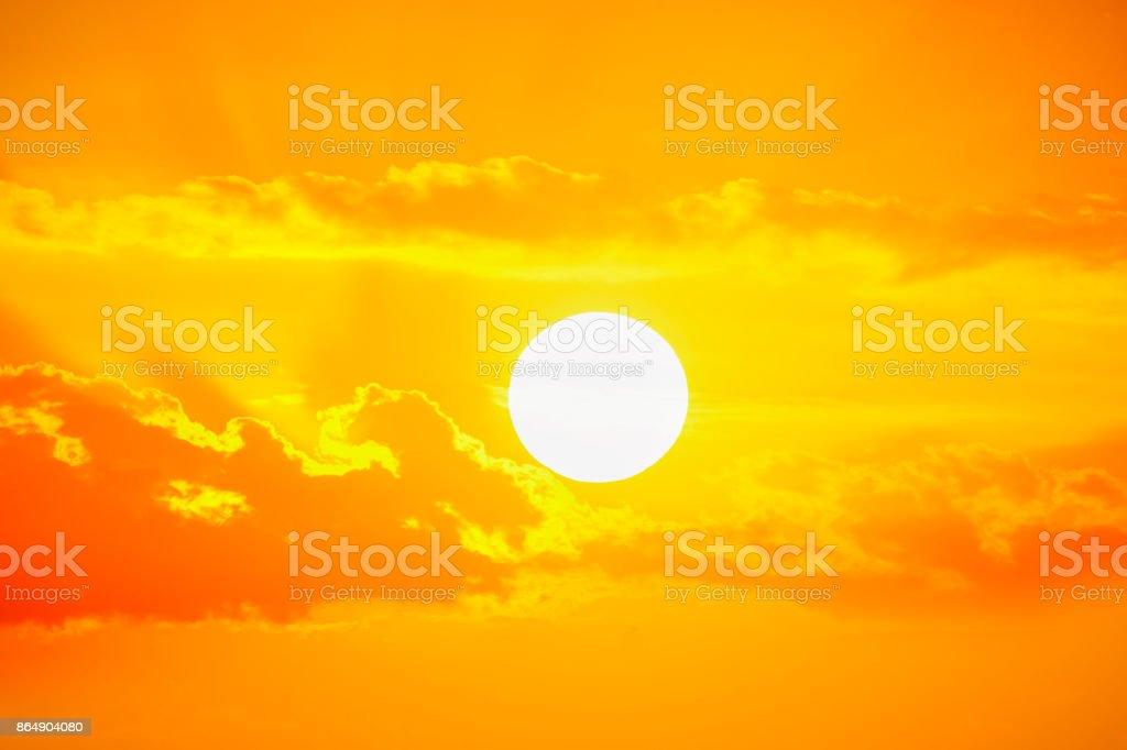 Golden sunset Himmel – Foto