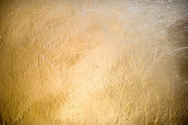 Golden surface stock photo