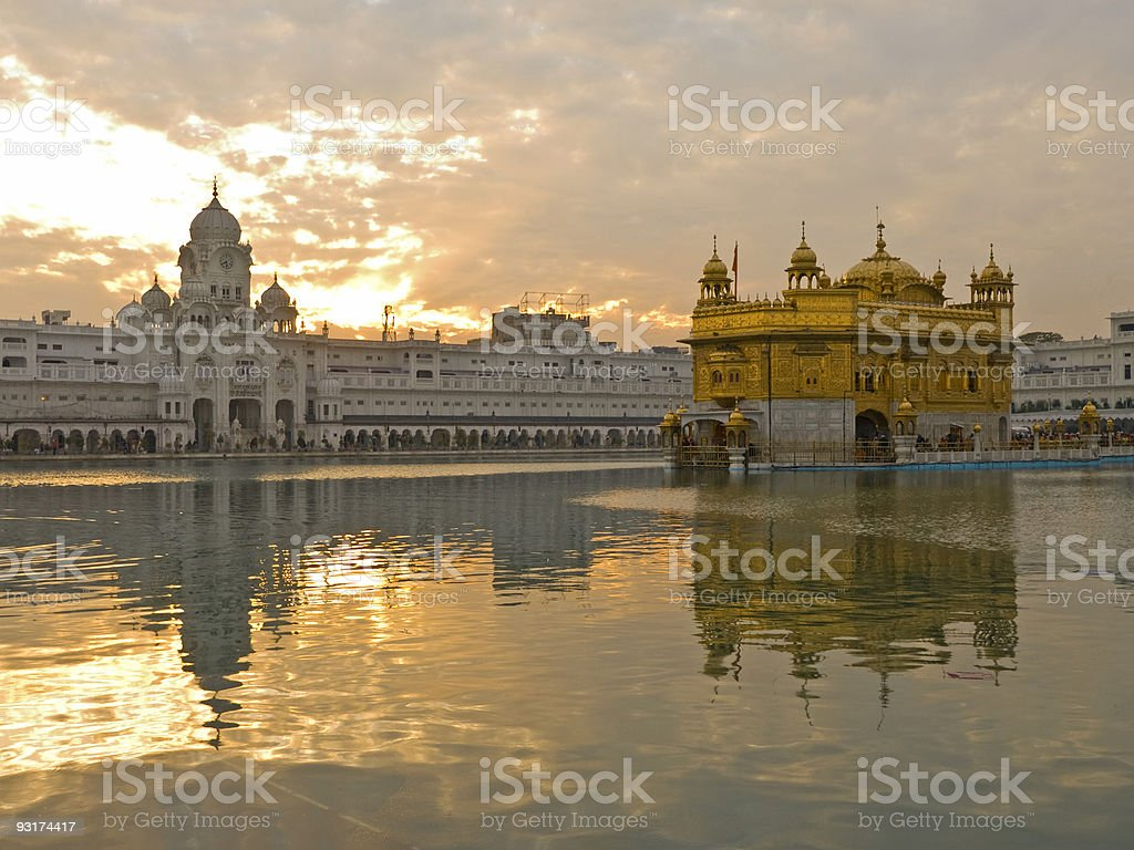 Golden Temple, Amritsar, India stock photo