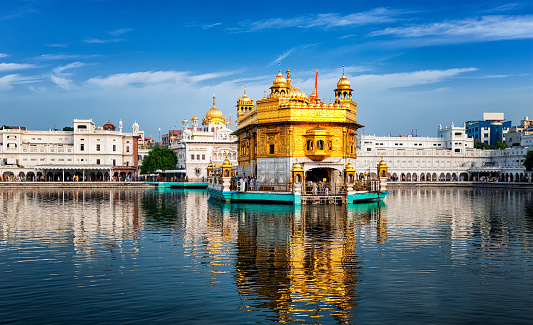 Golden Temple Amritsar Stock Photo - Download Image Now