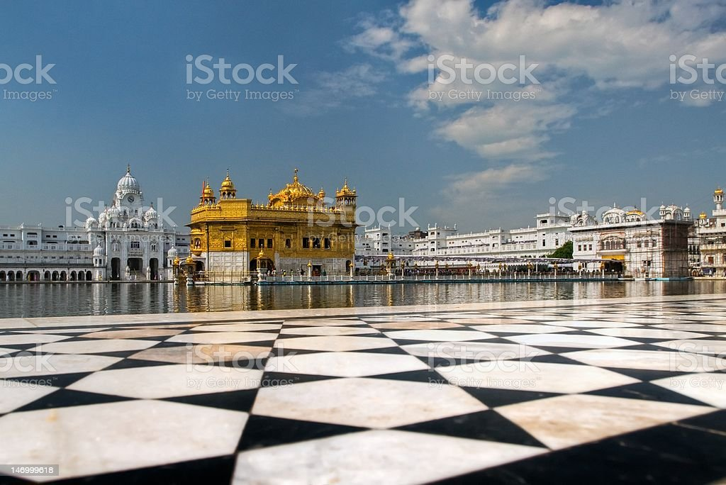 Golden Temple in Amritsar royalty-free stock photo