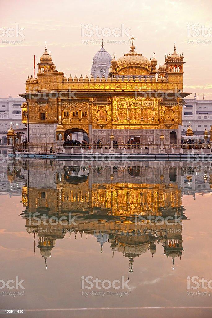 Golden Temple in Amritsar, Punjab, India. stock photo