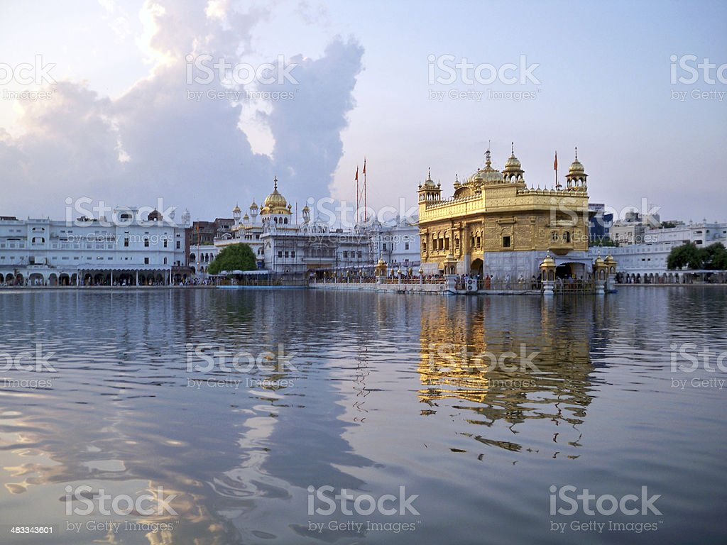 Golden Temple in Amritsar, Punjab, India stock photo