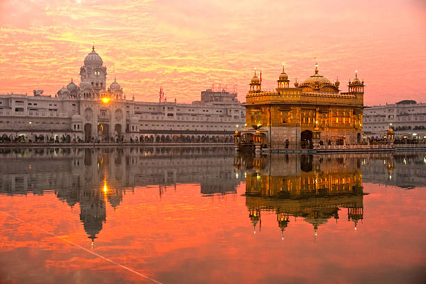 golden temple in amritsar, punjab, india. - india stock pictures, royalty-free photos & images
