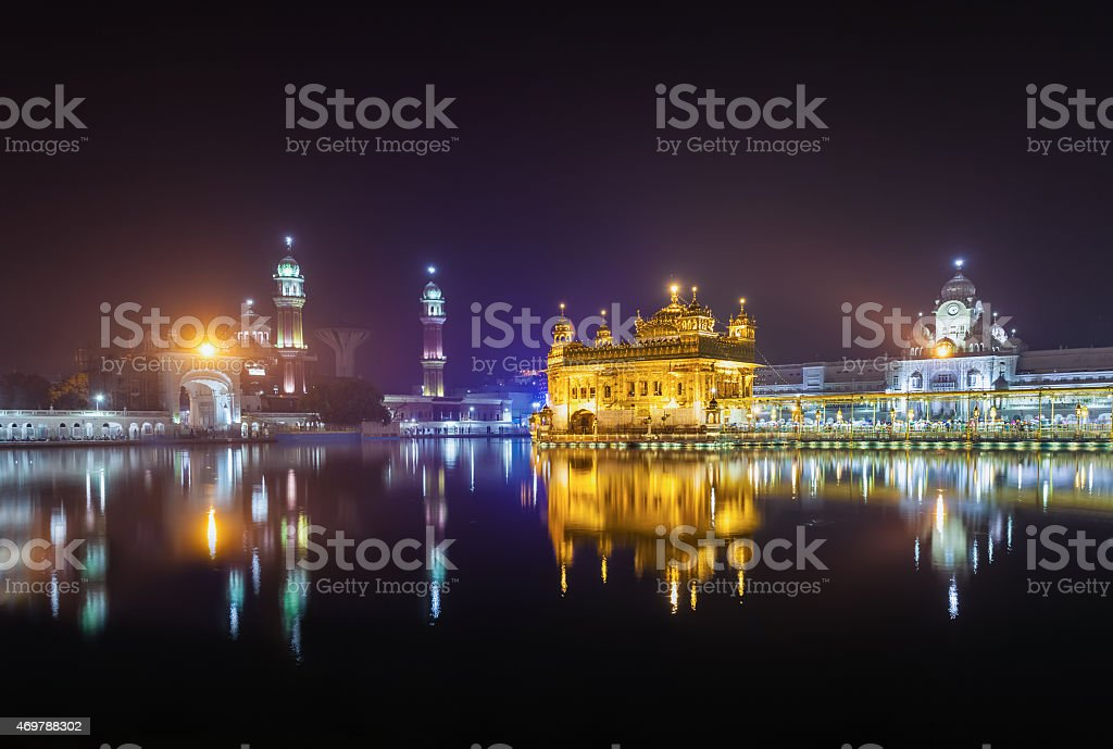 Golden Temple stock photo