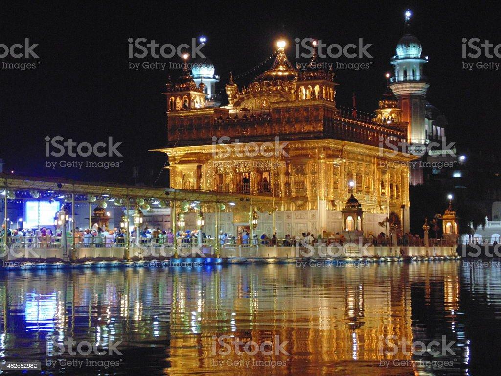 Golden Temple(amritsar) stock photo