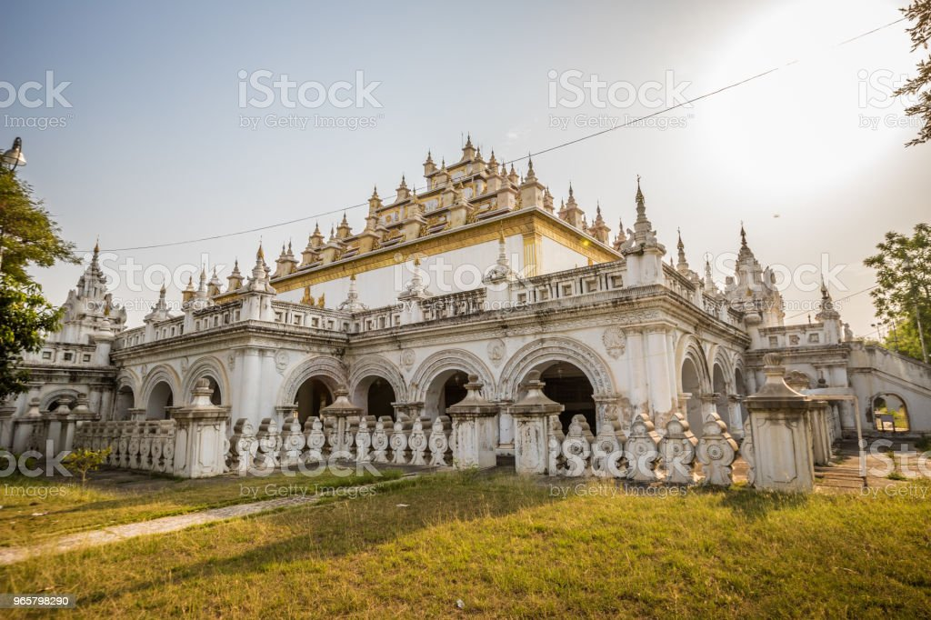 Golden Templei in Mandalay - Royalty-free Adult Stock Photo