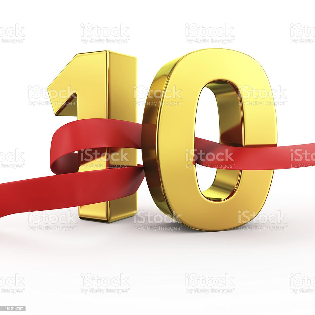 Golden Ten stock photo