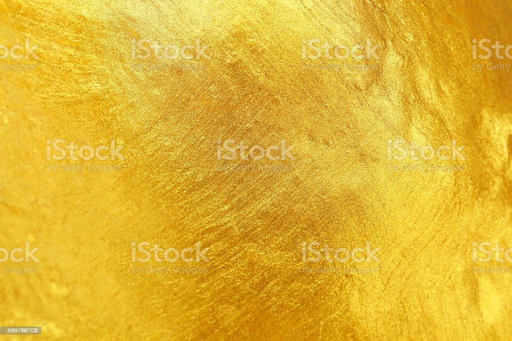 golden texture for pattern and background stock photo