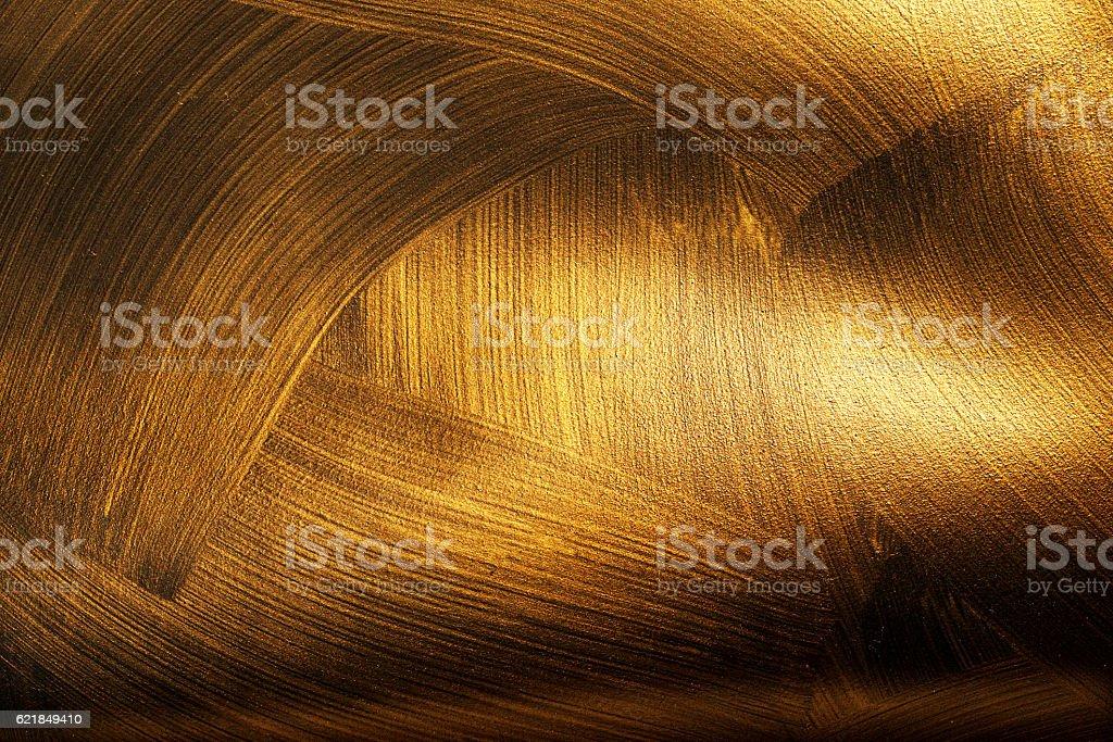 Golden Textur Einheiten auf einem schwarzen Hintergrund. – Foto