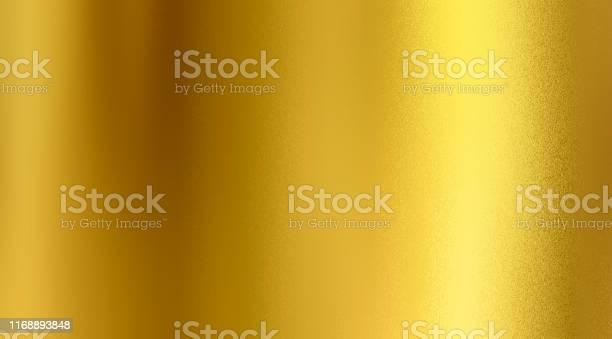 Golden Textured Background Gold Colour Foil Sheet Beautiful Design - Fotografie stock e altre immagini di Acciaio